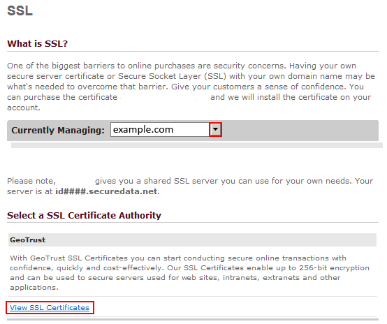 How to Order an SSL Certificate – DomainPeople Help Center